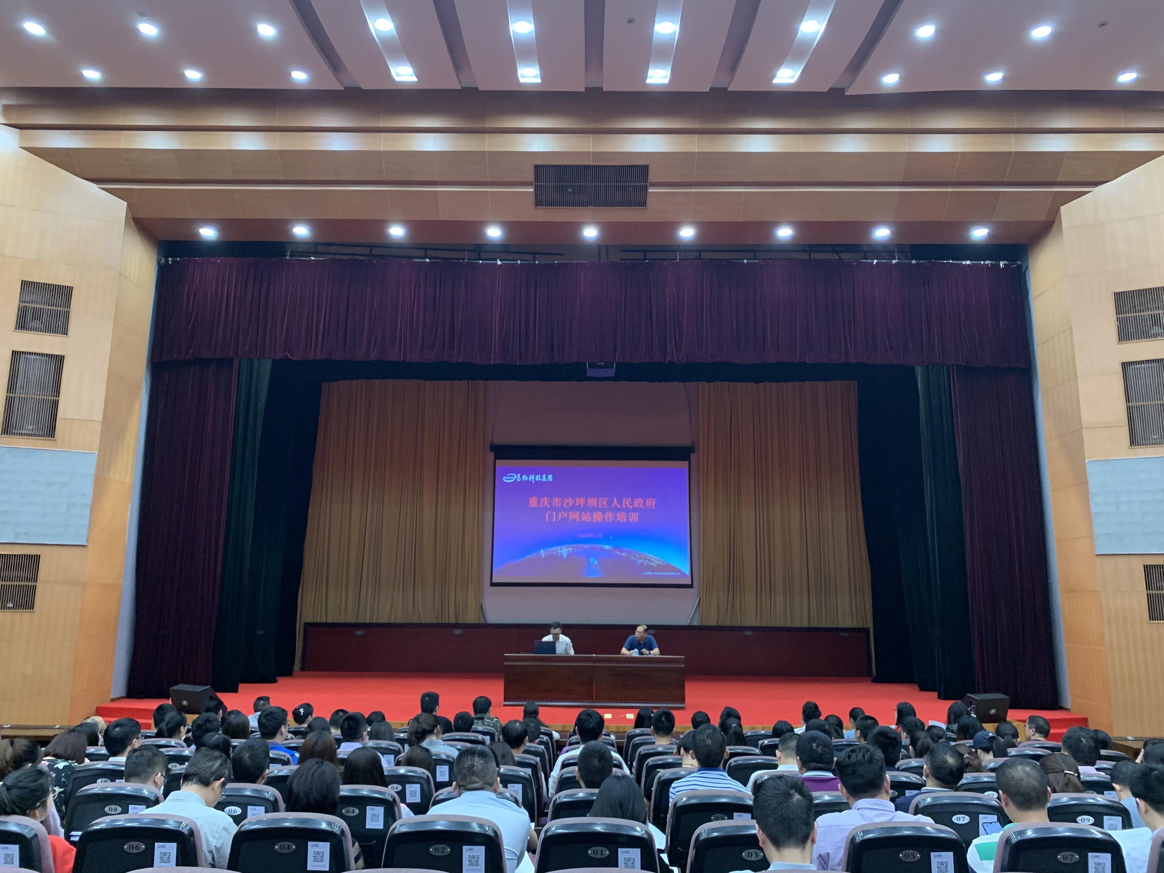重庆市沙坪坝区人民政府门户网站集群顺利上线